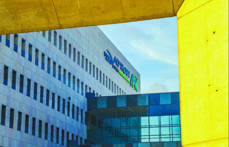 בית החולים הציבורי הראשון בישראל זה עשרות שנים. ביה''ח אסותא אשדוד. צילום אורי קריספין