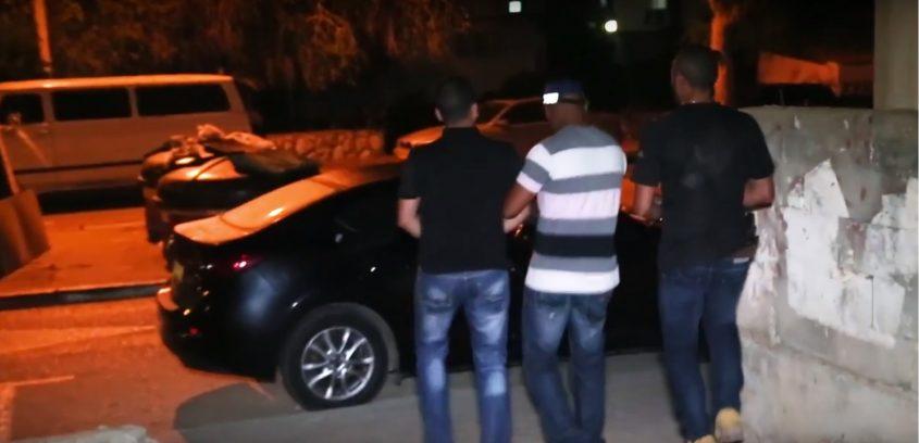 מעצר חשודים - צילום ארכיון, דוברות המשטרה