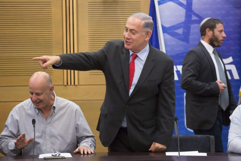 """""""אני אומרת לבני עדתי: 'הוא צוחק מכם'"""". נתניהו. צילום: אמיל סלמן"""