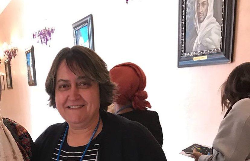 """מזכ""""לית הסתדרות המורים יפה בן דויד בכנס העצמת נשים במרוקו. צילום: יח""""צ"""