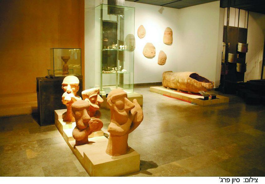 המוזיאון לתרבות הפלשתים. צילום: סיון פרג'