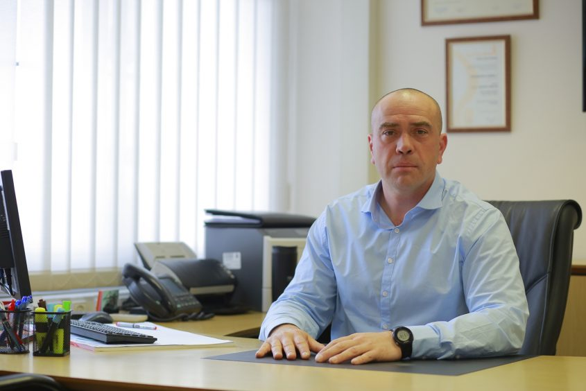 """ד""""ר שמעון סיטניאקובסקי. צילום: נמל אשדוד"""
