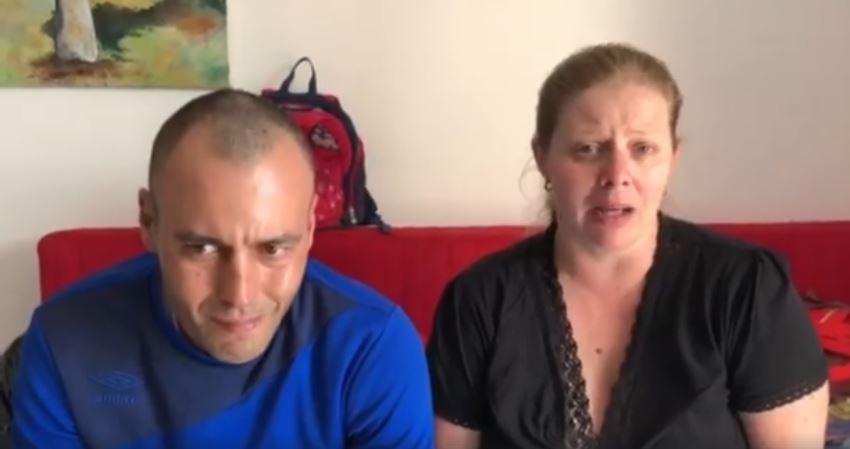 הזוג שביתם נשרף בפנייה ברשת החברתית הפייסבוק