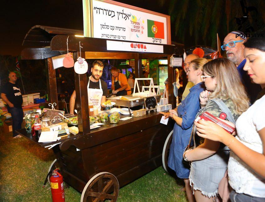 פסטיבל עמים וטעמים באשדוד 2017. צילום: משה ראובן