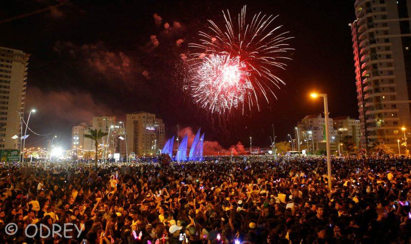 חגיגות ערב יום העצמאות באשדוד אשתקד. צילום: ODREY פבל טולצ'ינסקי