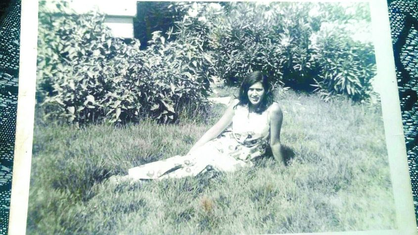 רשל כהן בצעירותה באשדוד