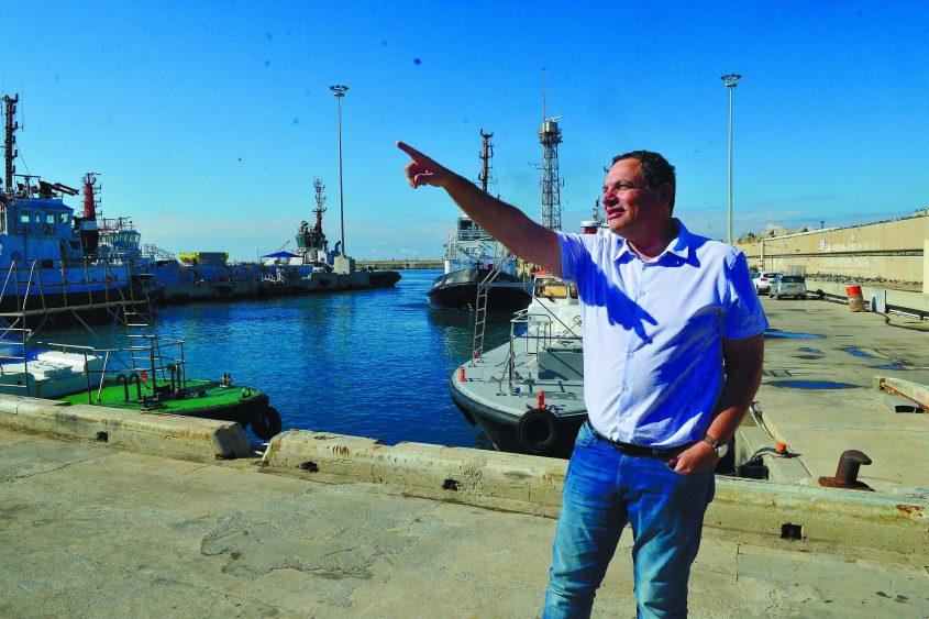 """מנכ""""ל חברת נמל אשדוד נבחר למנכ""""ל חנ""""י: לשעבר, יצחק בלומנטל. צילום: אורי קריספין"""