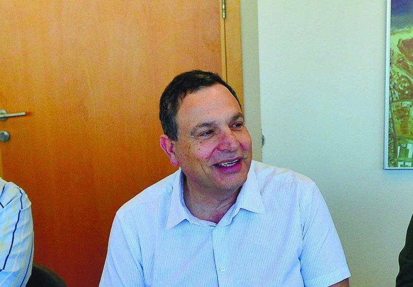 """מנכ""""ל חברת נמל אשדוד לשעבר יצחק בלומנטל - נבחר למנכ""""ל חנ""""י. צילום: אורי קריספין"""