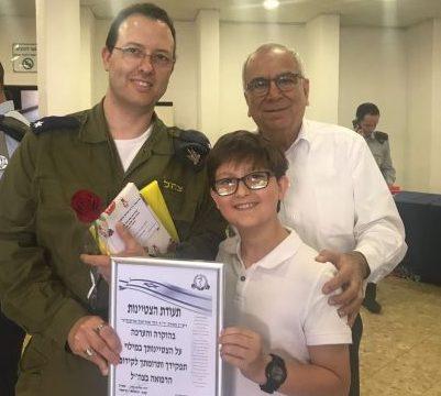 בלדה לחובש: מצטיין קצין הרפואה הראשי - רופא אסותא אשדוד