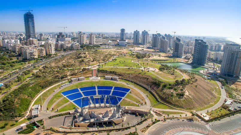 האמפי ופארק אשדוד-ים. צילום: עיריית אשדוד