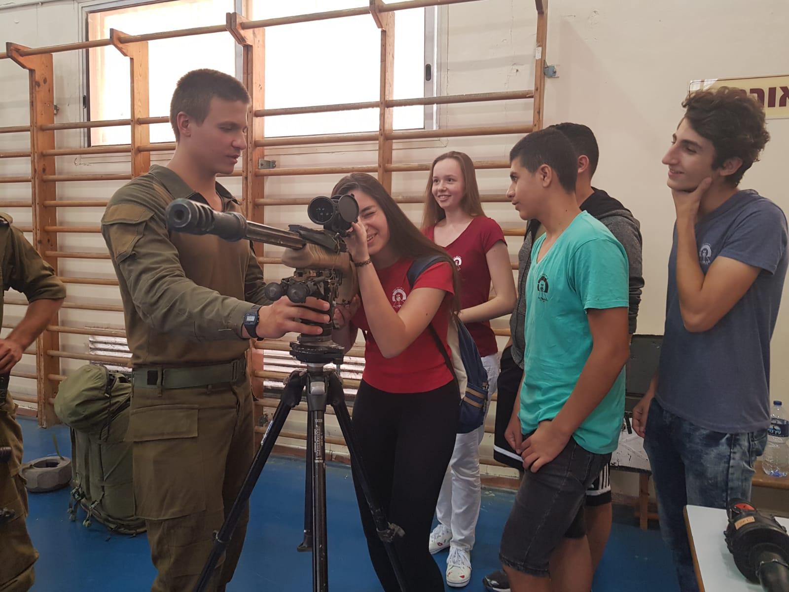 מתוך הפעילות במקיף ה' יחד עם חיילי גבעתי
