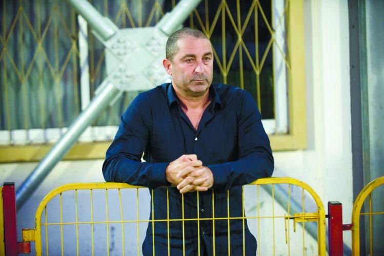 האיש החזק במ.ס אשדוד ג'קי בן זקן. צילום: אורי קריספין
