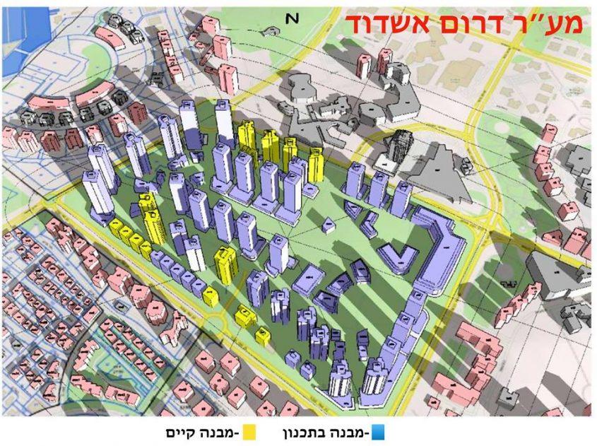הדמייה: מקסים צ׳רני יועץ בבנייה חדשה באשדוד