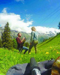 הצעת נישואין בשוויץ