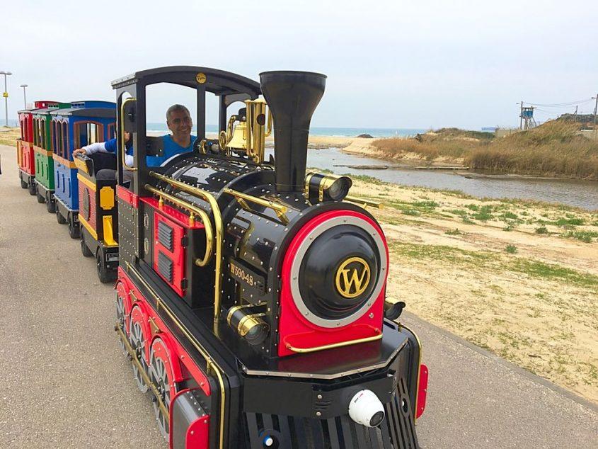 רכבת בפארק לכיש. צילום: יוני חזיז