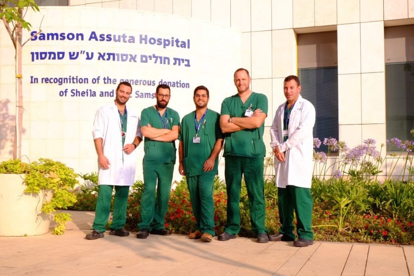 """רופאי ביה""""ח אסותא אשדוד שיעניקו את השירות במוקד החדש. צילום: מכבי"""