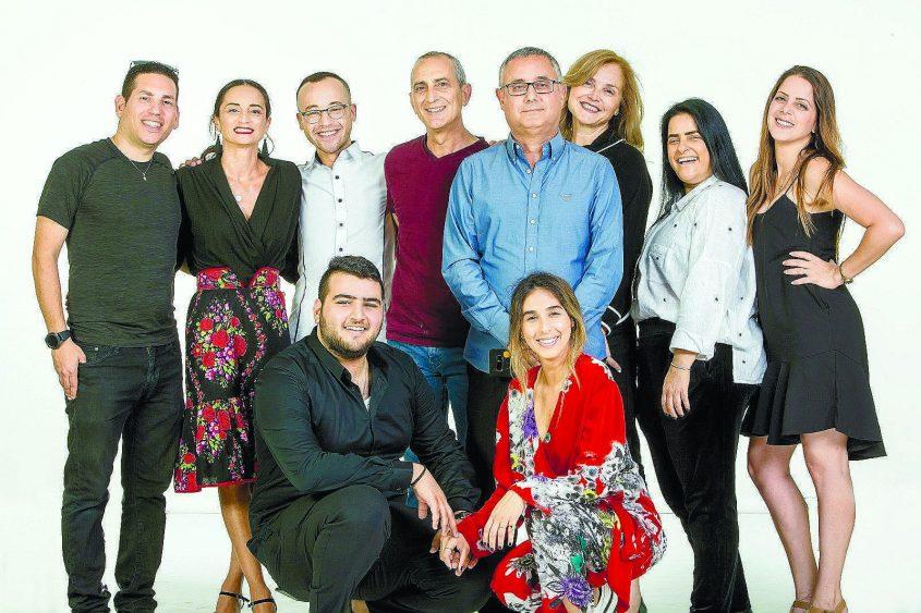 צוות פסטיבל המחול הבינלאומי באשדוד