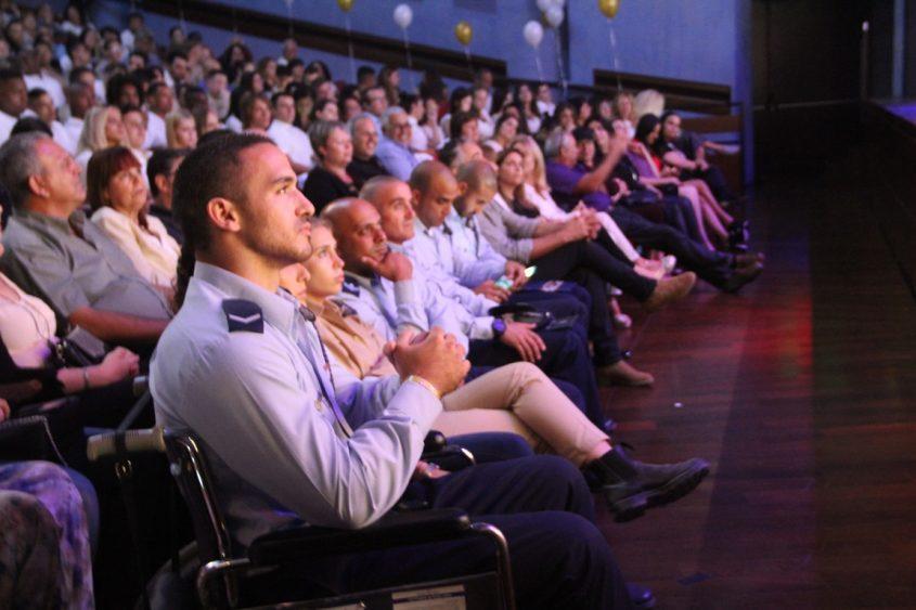 פרידמן בקהל. צילום: פוש אפ גירלס
