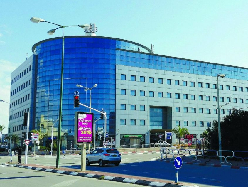 מבנה המשרדים של קבוצת אלעזרא לשעבר: אקירוב). צילום ארכיון: דור גפני
