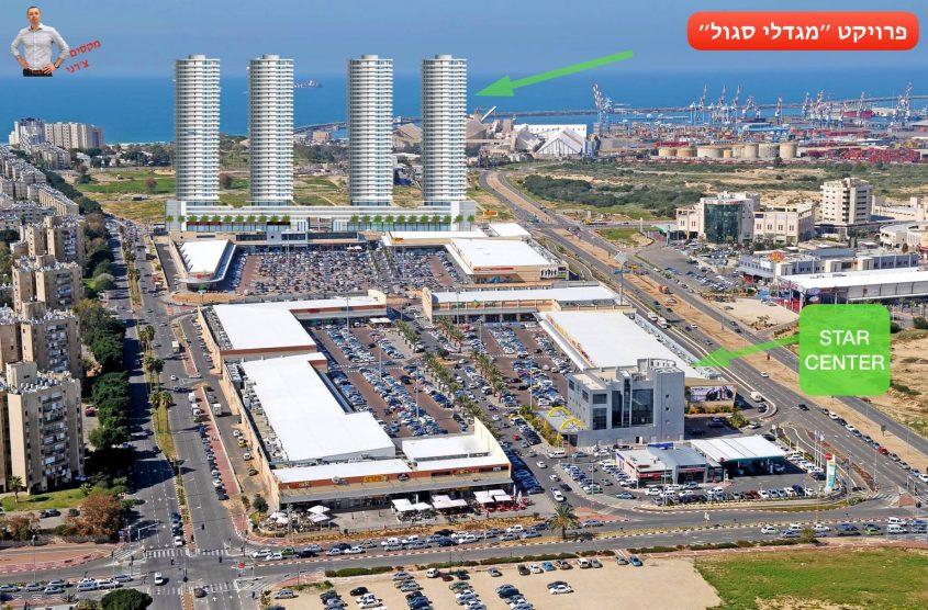 הדמיית מתחם סגול: מקסים צ'רני - סיקור על הבנייה החדשה באשדוד