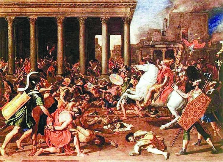 חורבן בית המקדש, ניקולא פוסן