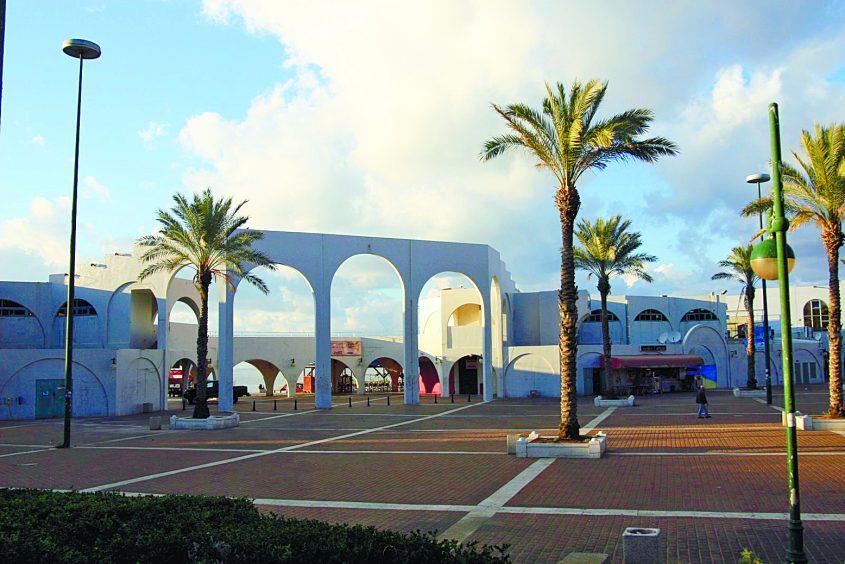 מתחם חוף הקשתות. צילום: פבל