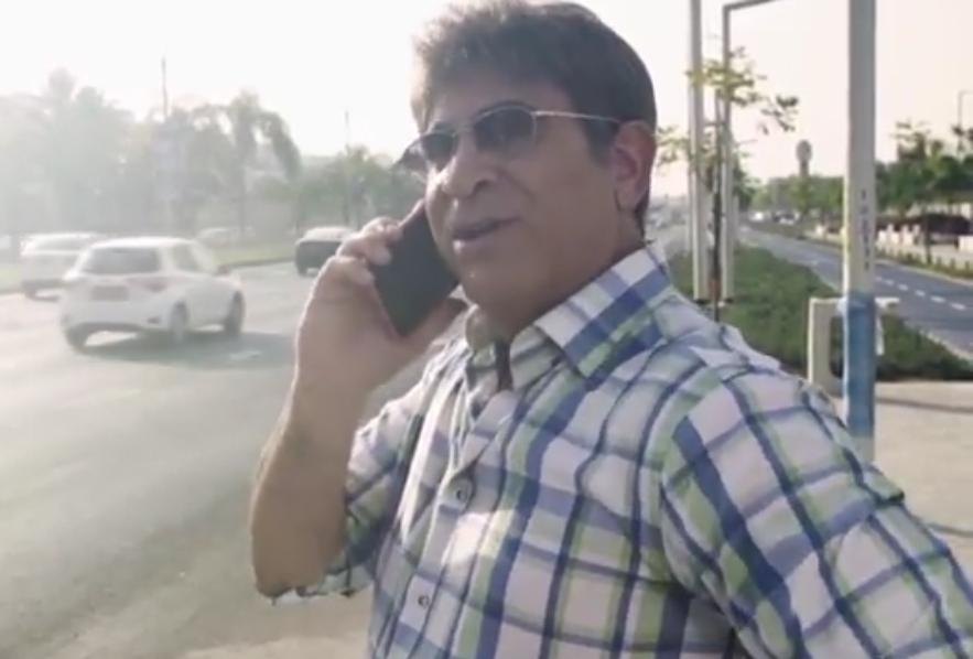 יצפאן מתוך הסרטון הראשון. הפקה: עיריית אשדוד