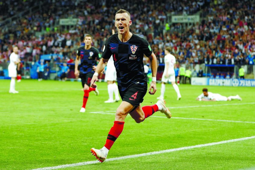 חצי גמר המונדיאל: אנגליה מול קרואטיה. צילום: DARREN STAPLES רויטרס