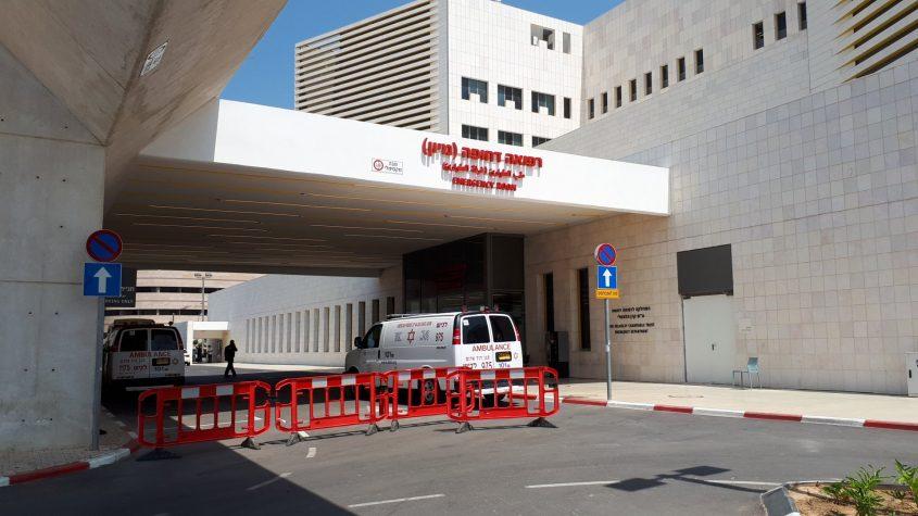 הכניסה למיון בבית החולים באשדוד. צילום: דור גפני