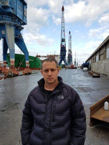 עמית שרף, מזכיר ועד הציוד המכאני בנמל אשדוד