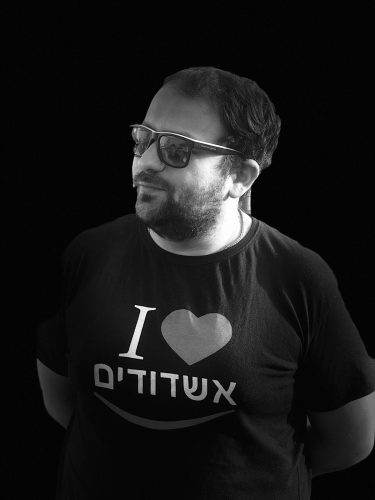 """אלכס פאנוב, תנועת """"אשדודים"""" צילום: מייק וייצמן"""