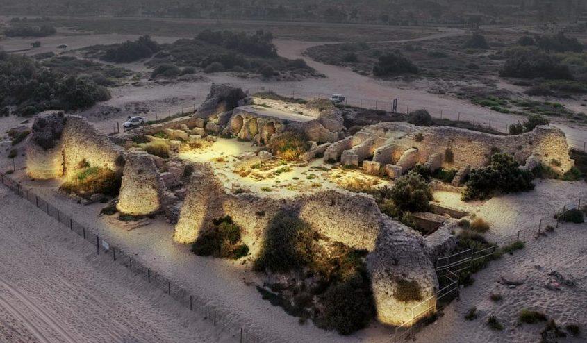 הדמיה: המצודה מוארת - גיל טייכמן