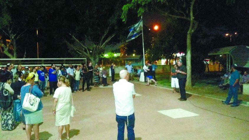 ארכיון: המחאה נגד ההחלטה לסגור את מקיף ב. צילום: דור גפני