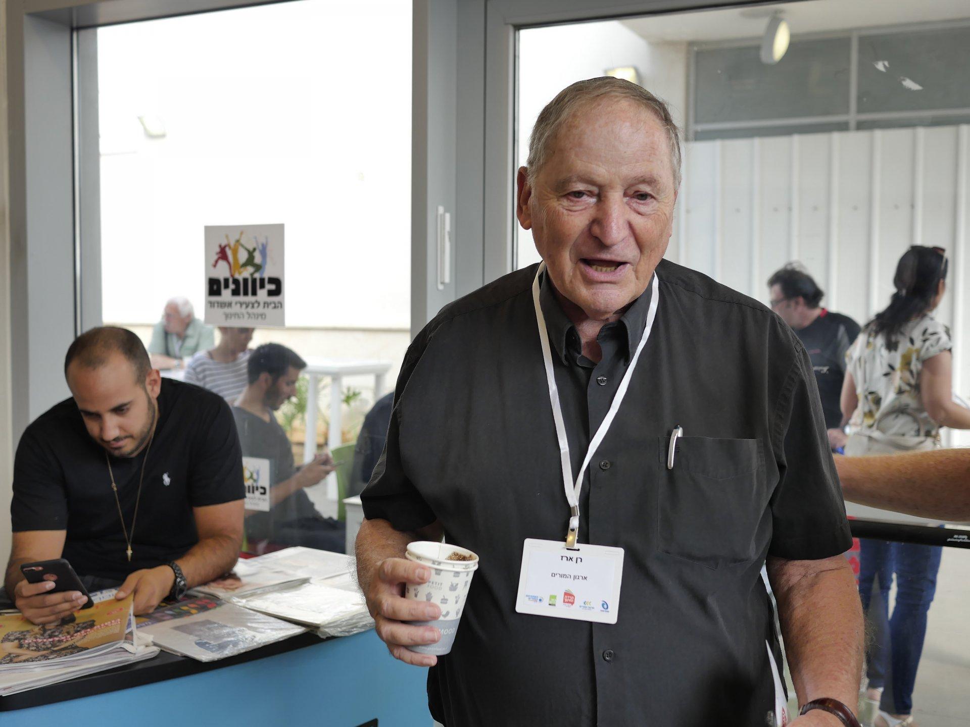 רן ארז, ארגון המורים. צילום: פאבל