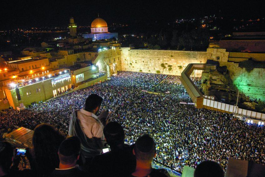 סליחות בירושלים. צילום: אוליביה פיטוסי
