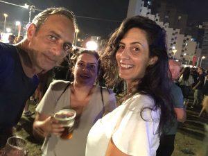 שמואל דוד עם חן בוקר וטאלי קריאף