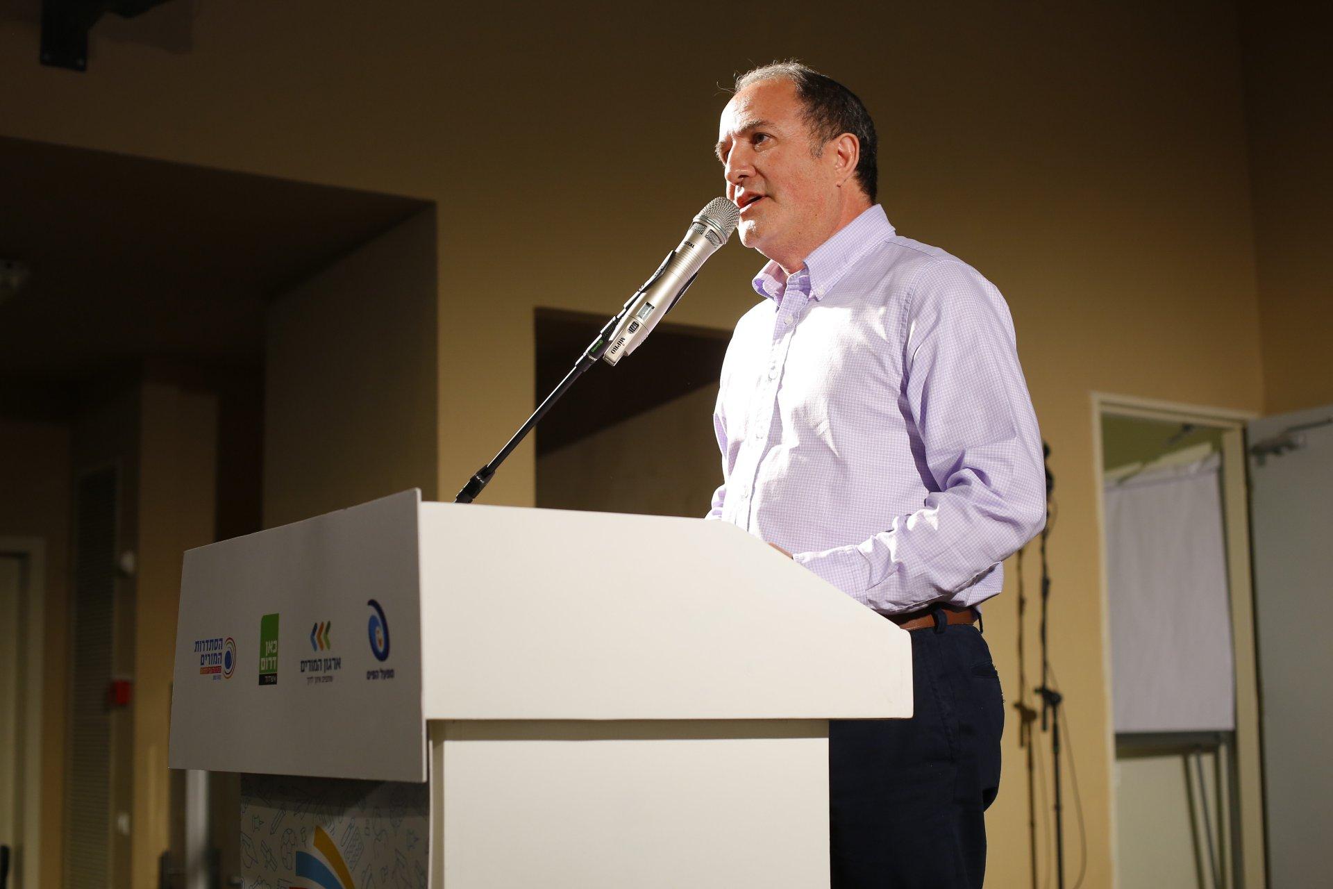 יחיאל לסרי ראש עיריית אשדוד צילום: פאבל