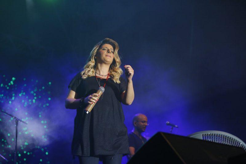 שרית חדד בהופעה, צלם: פבל טולצ'ינסקי