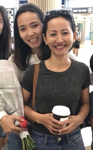 רונג'אן עם אחותה שתגורש