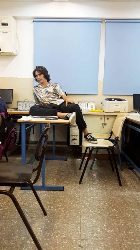 ארי נשר בתלמה ילין, צילום: ליהי מיירה טולדנו