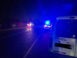 תאונה קשה בכביש 334. צילום: דוברות משטרת לכיש