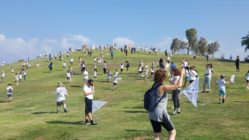 עפיפונים של שלום בפארק אשדוד-ים