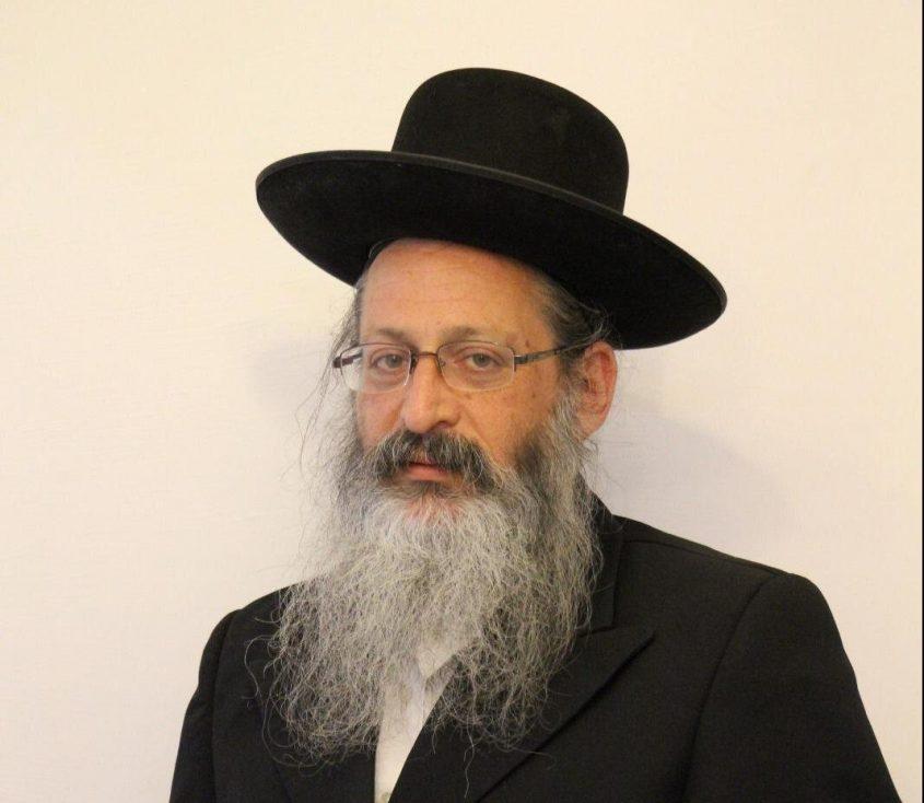 """יחיאל וינגרטן יו""""ר אגודת ישראל באשדוד ומס' 1 ברשימתה. צילום: דודו חנונה"""