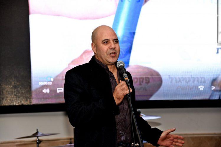 """שלומי בן עזרי מנכ""""ל ארגון הקבלנים באשדוד. צילום: פוטו דוד אסייג"""