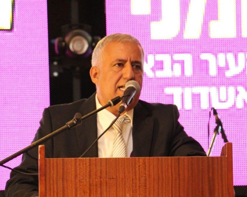 """כנס פעילים מרכזי סיעת אשדוד תנצח בראשות ד""""ר אלי לחמני. מילאן וייסבלום"""