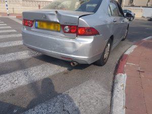 תאונת שרשרת ברחוב שבי ציון אשדוד. צילום: דוברות איחוד הצלה