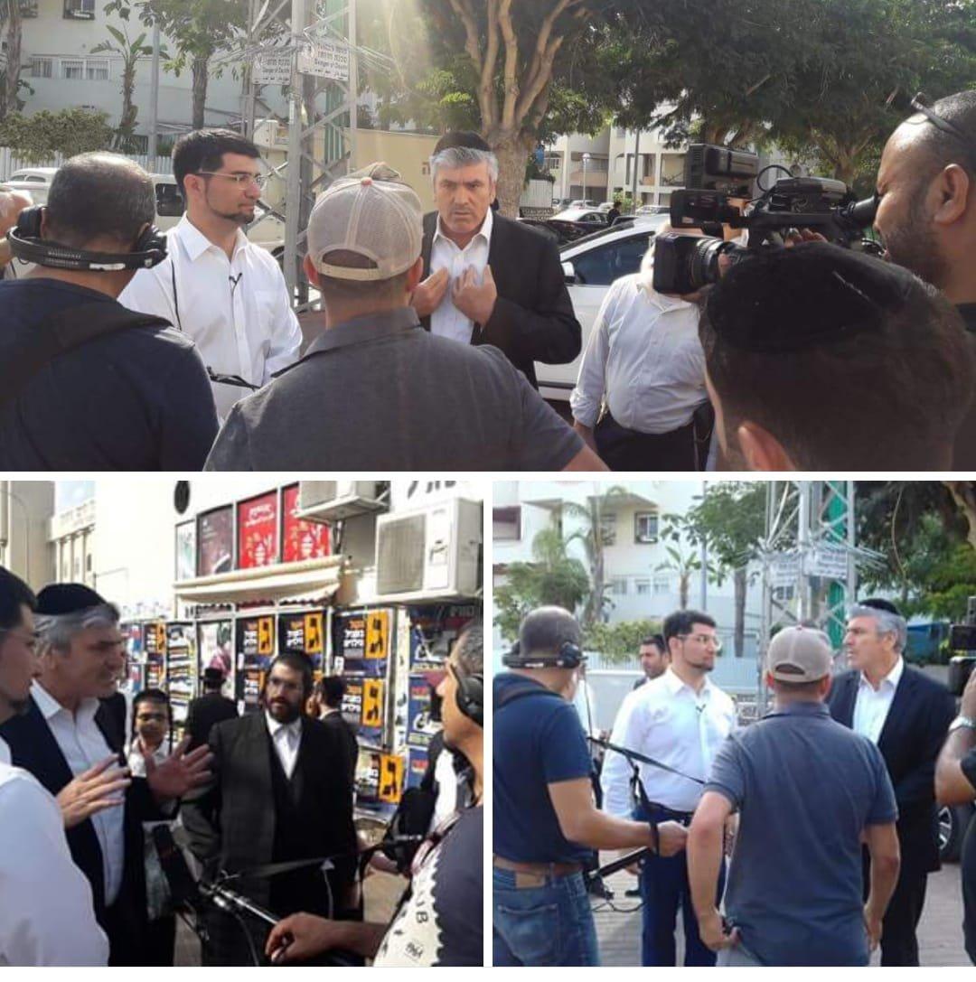 אמסלם נגד נכט ברובע ז' צילום: משה חן