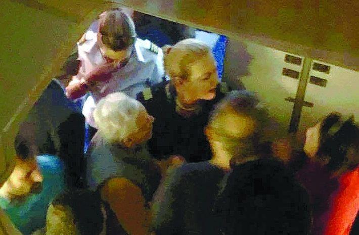 """מהומה ב""""טיסת השבת"""" של אל על. צילום: רוני מייטל"""