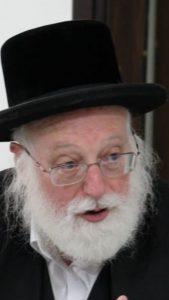 הרב אפרים ובר. באדיבות מטה יהדות התורה והשבת.