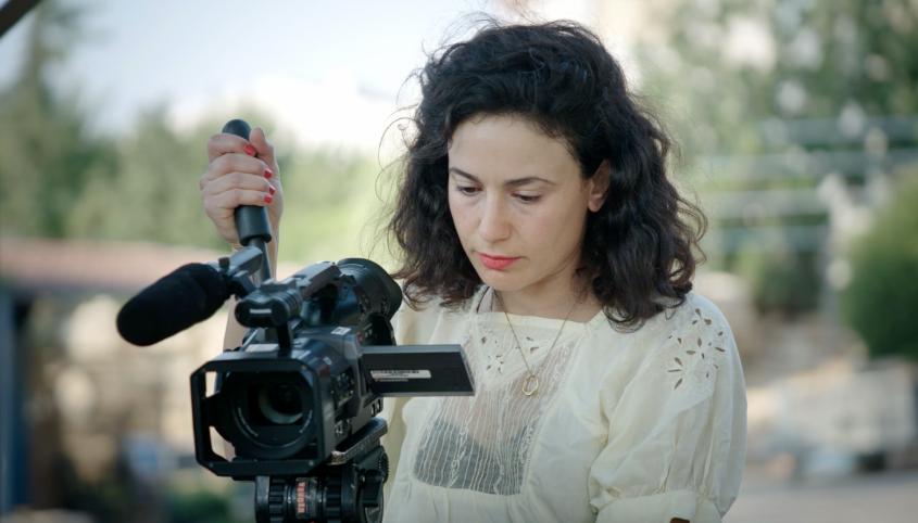 הבמאית איריס זכי. צילום: אור אזולאי
